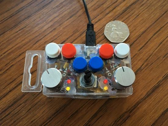 Arduino making beats on a tiny dj controller