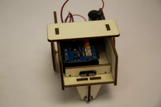 Arduino make a wifi controlled mini robot using the