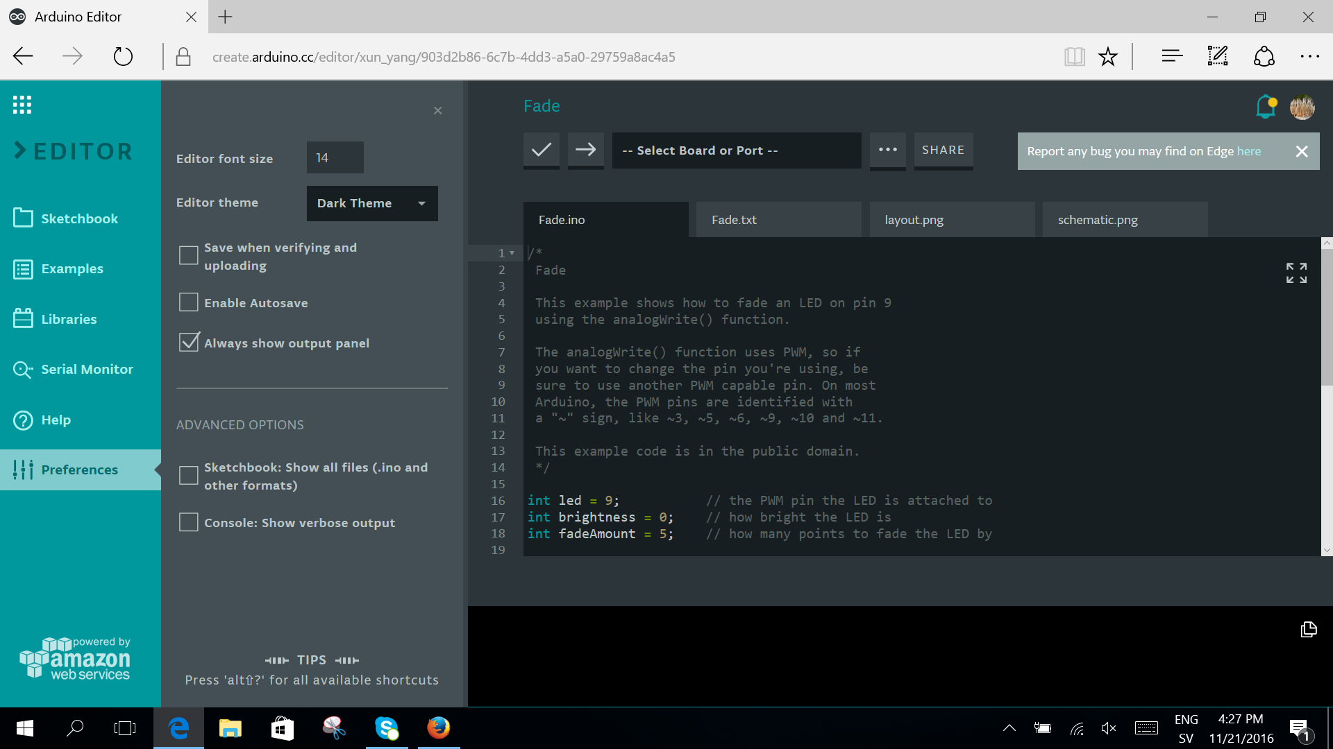 Arduino Blog » The Library Manager is now available on the Web Editor!