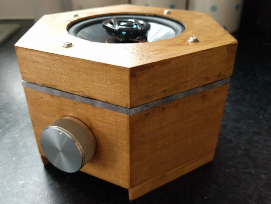 Arduino a diy hexagonal bluetooth speaker with