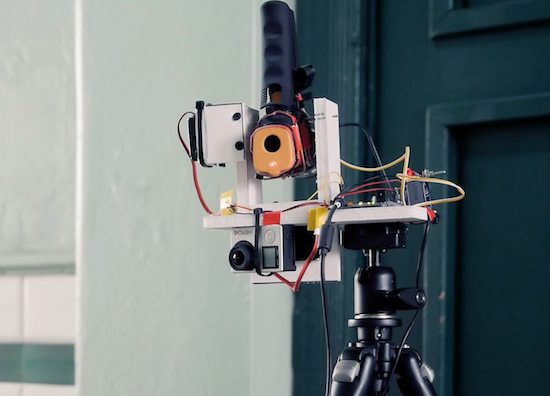 Arduino Blog » IR thermometer hacked into an IR camera