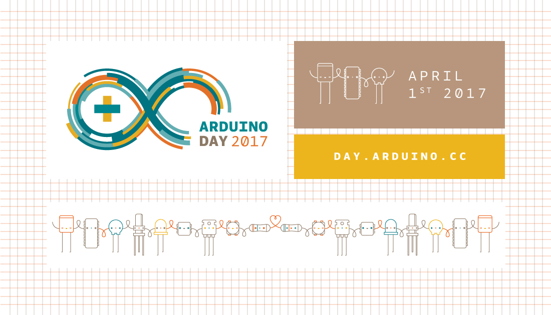 Save the date for Arduino Day 2017: April 1st