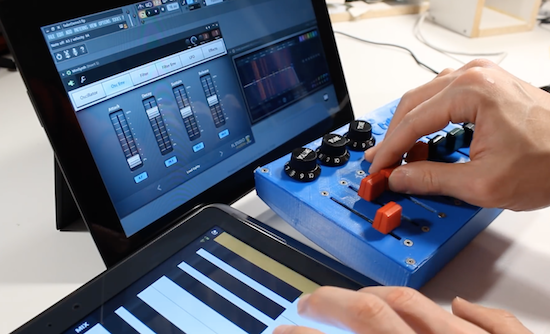 Arduino turn an old mixer into a midi input fader