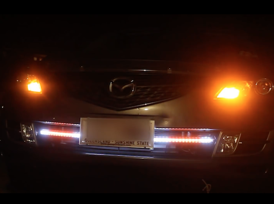 add flair to your turn signals with programmable leds
