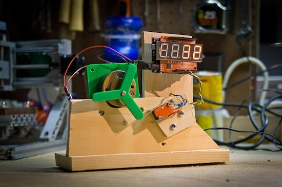 Testing microswitches with a (not quite) Useless Machine