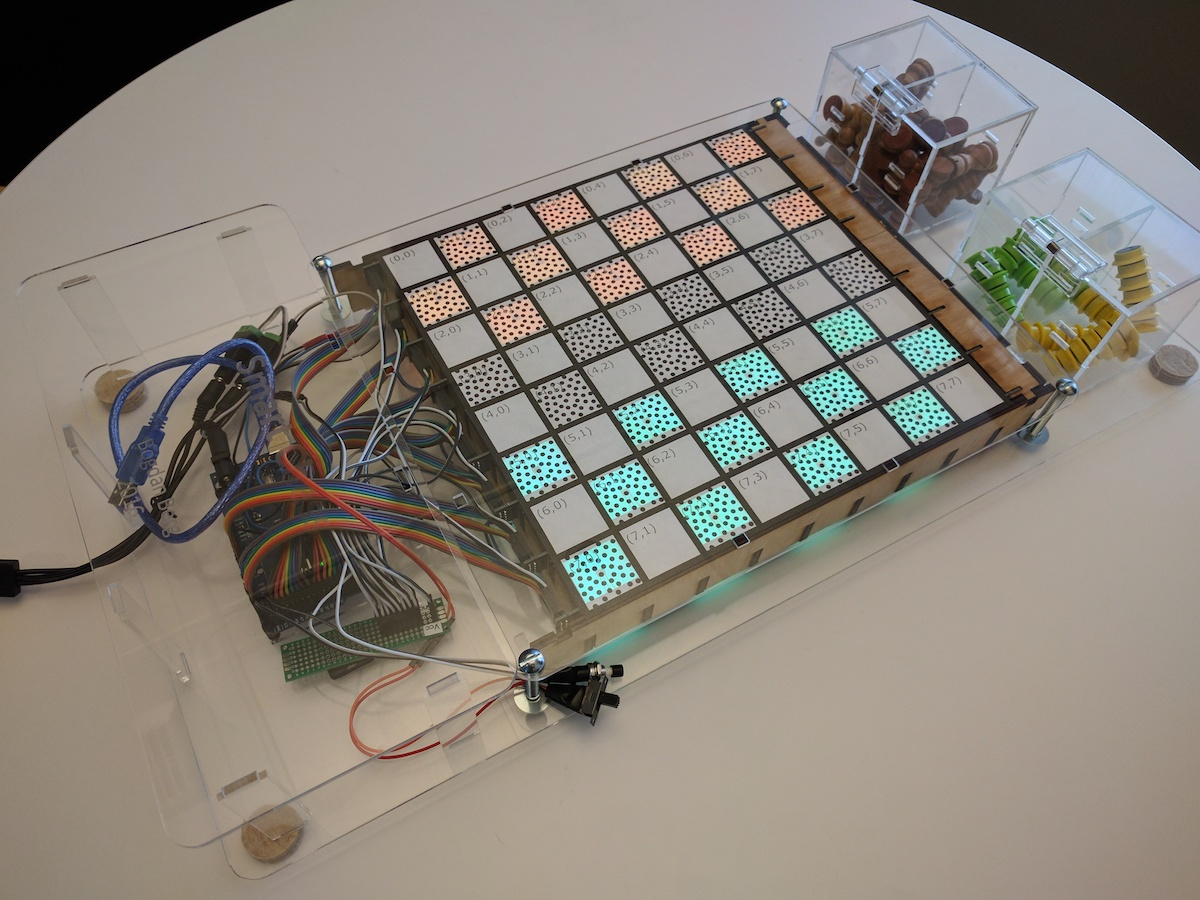 Arduino this maker built a game board that lights