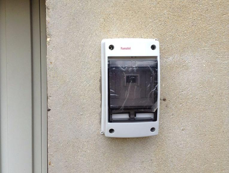 Unlock your garage door with a fingerprint
