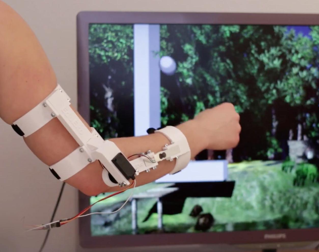 EduExo is a DIY exoskeleton kit