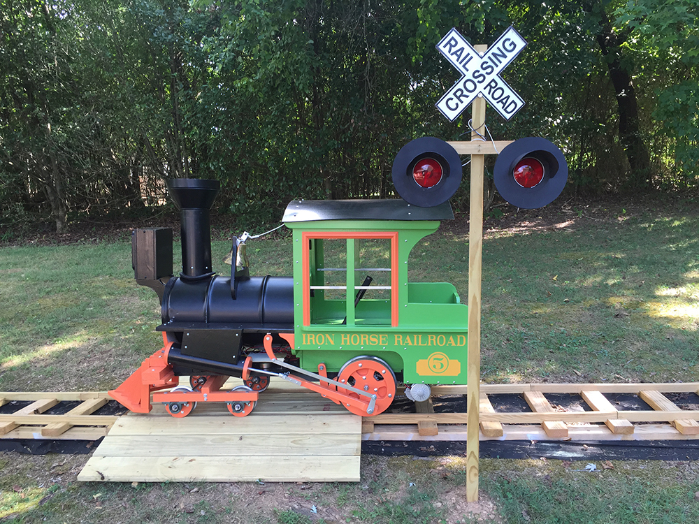 Arduino Blog » Grandfather builds a backyard railroad with
