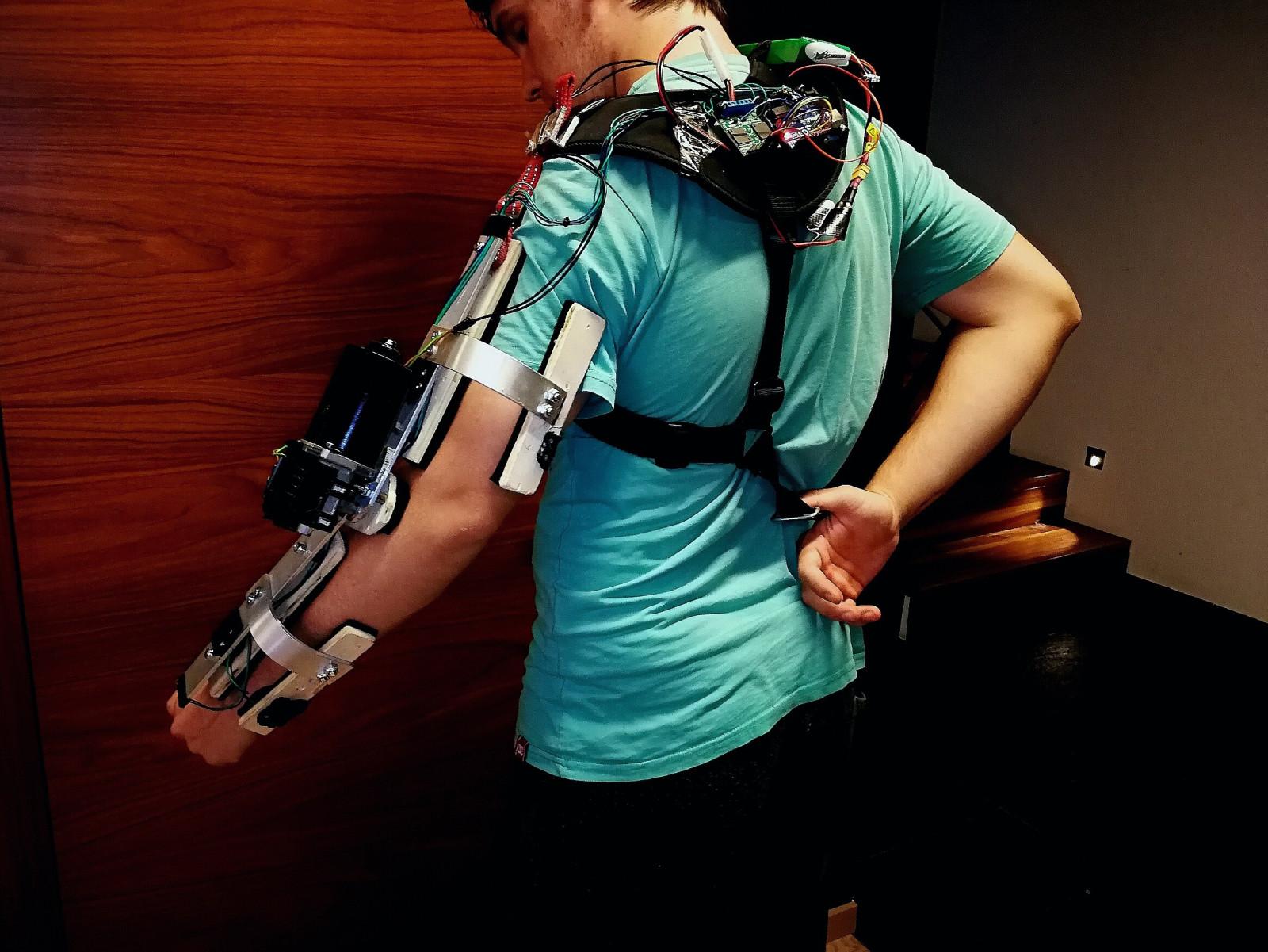 Arduino exoarm an powered assistive
