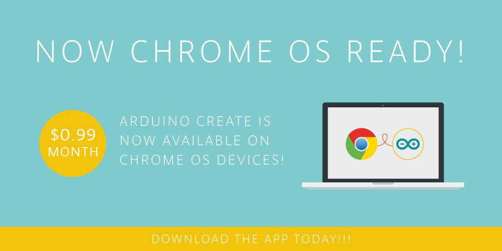 Arduino Blog » Arduino Create comes to Chrome OS devices!