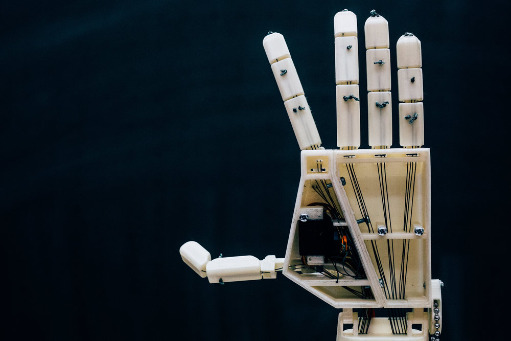 Arduino Blog Project Aslan Is A 3d Printed Robotic Sign Language
