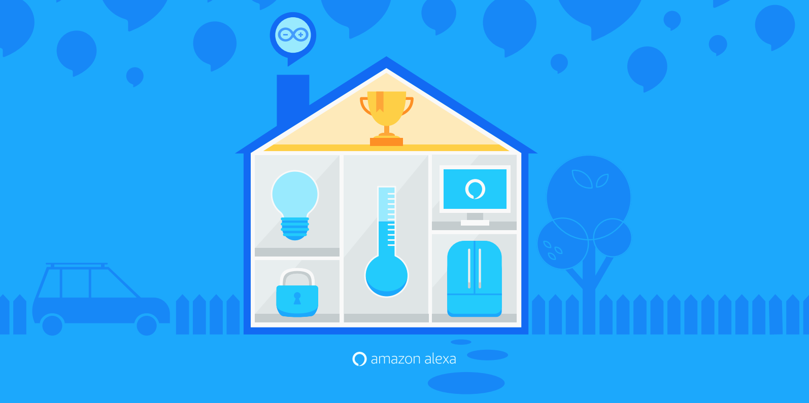Arduino Blog 187 Create The Smart Home Gadget Of The Future With Alexa And Arduino
