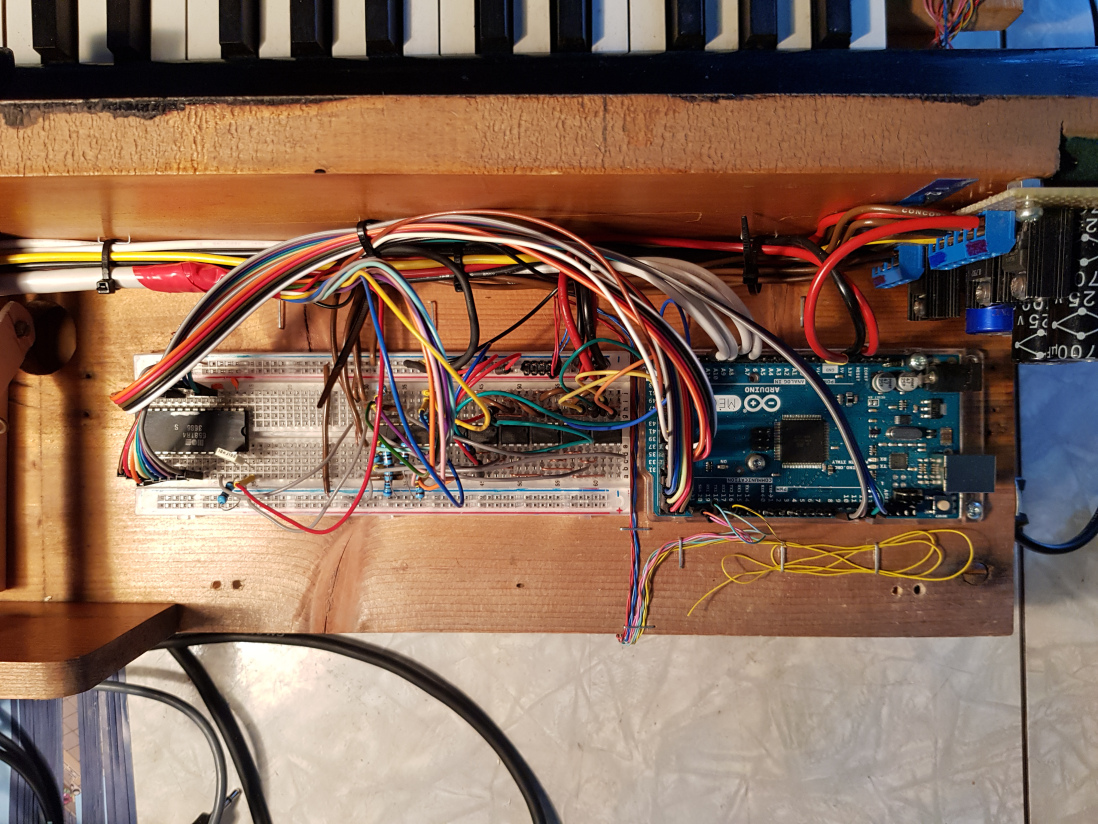 Arduino Blog » Playing chiptunes on an old reed organ with