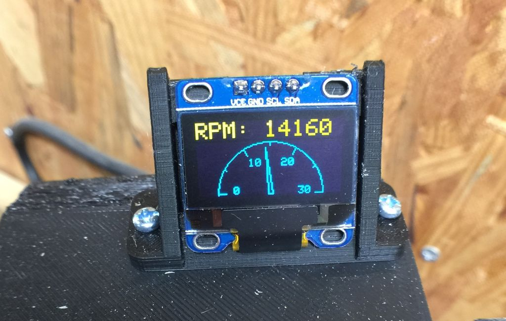 Arduino Blog 187 Add An Arduino Based Tachometer To Your Cnc
