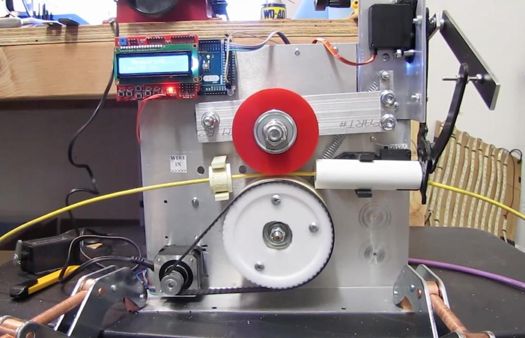 Arduino Blog » Create an Arduino Mega-powered, cable-cutting machine