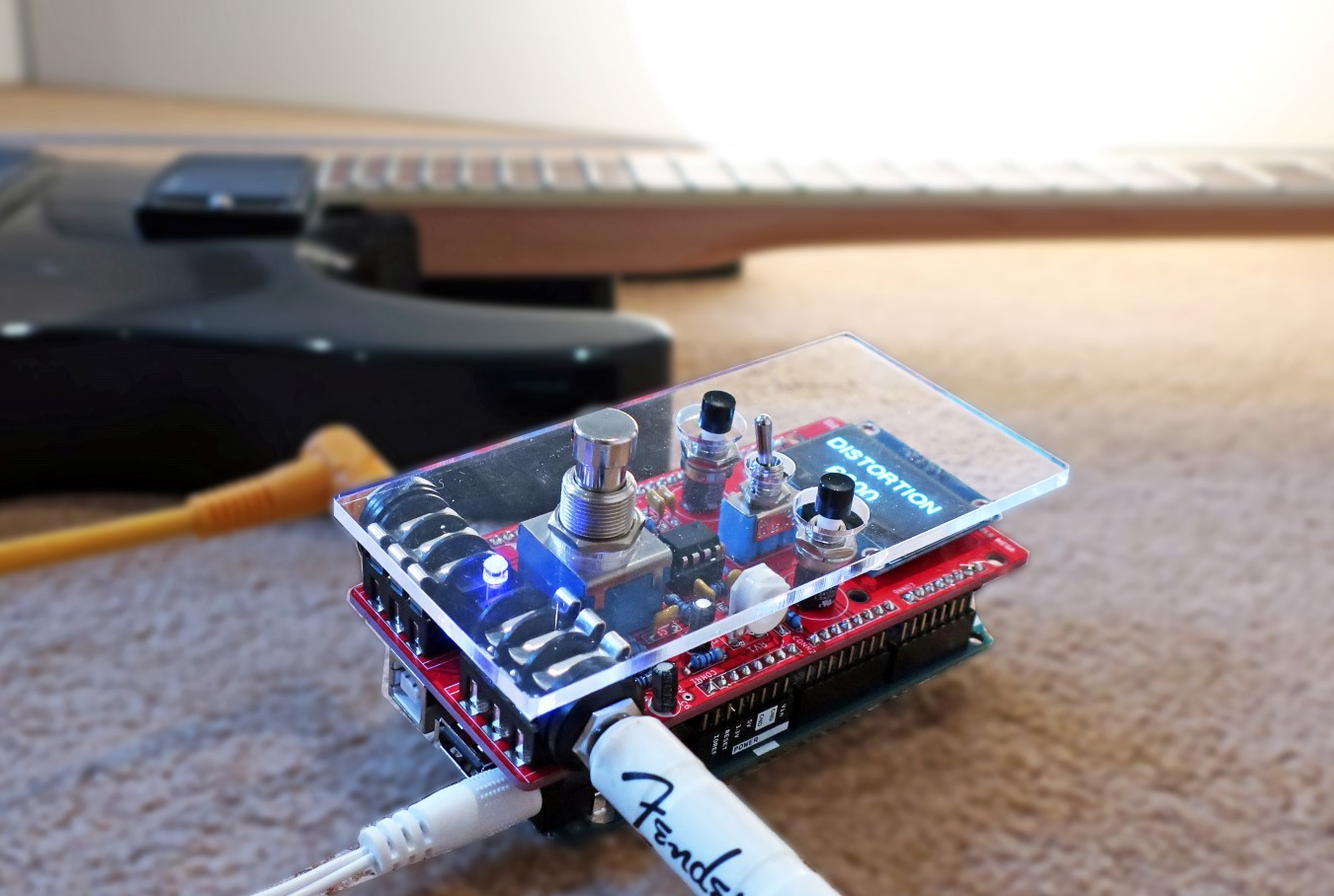 Arduino Blog Pedalshield Mega Is A Programmable Guitar Pedal For Board Wiring Kit If You Want To Create New Sounds Without Having Redo Your Every Single Time The From Electrosmash Could Be Just