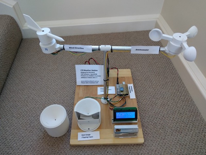 Arduino Blog » A 3D-printed personal weather station