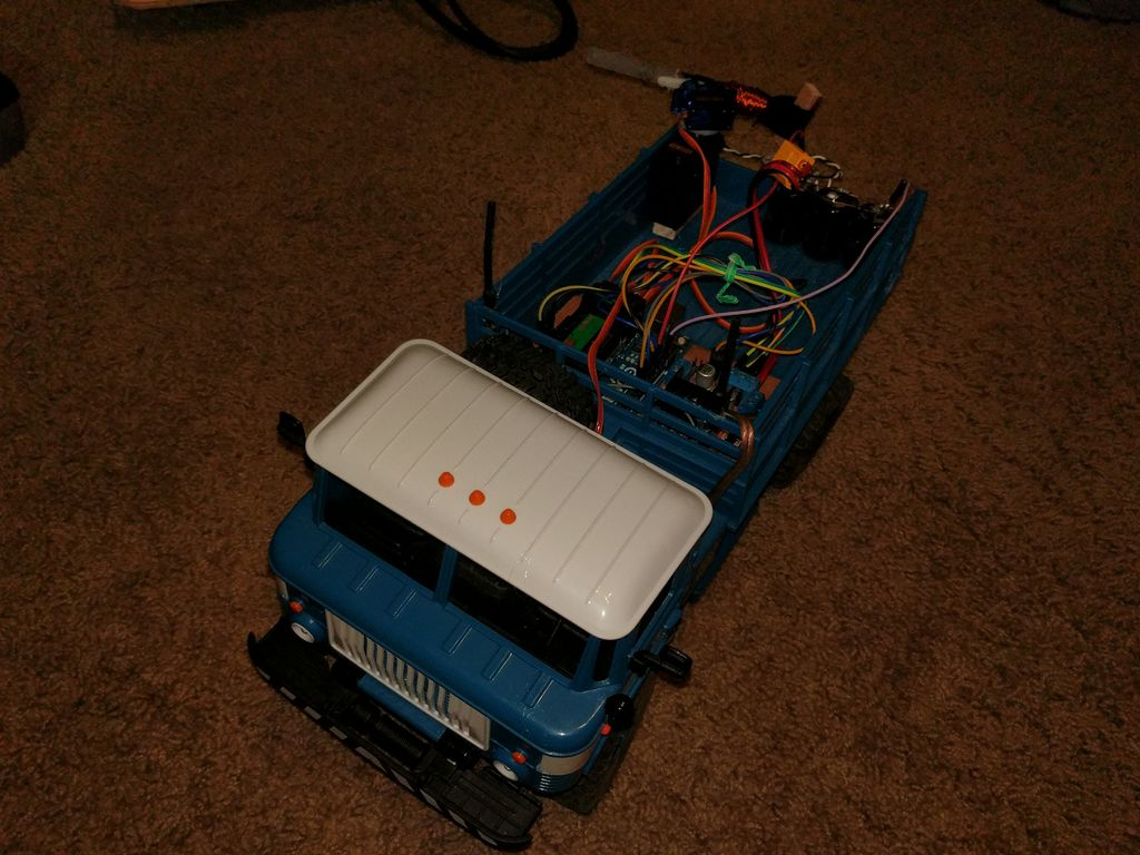 Arduino Blog » RC truck packs Arduino control system… and an