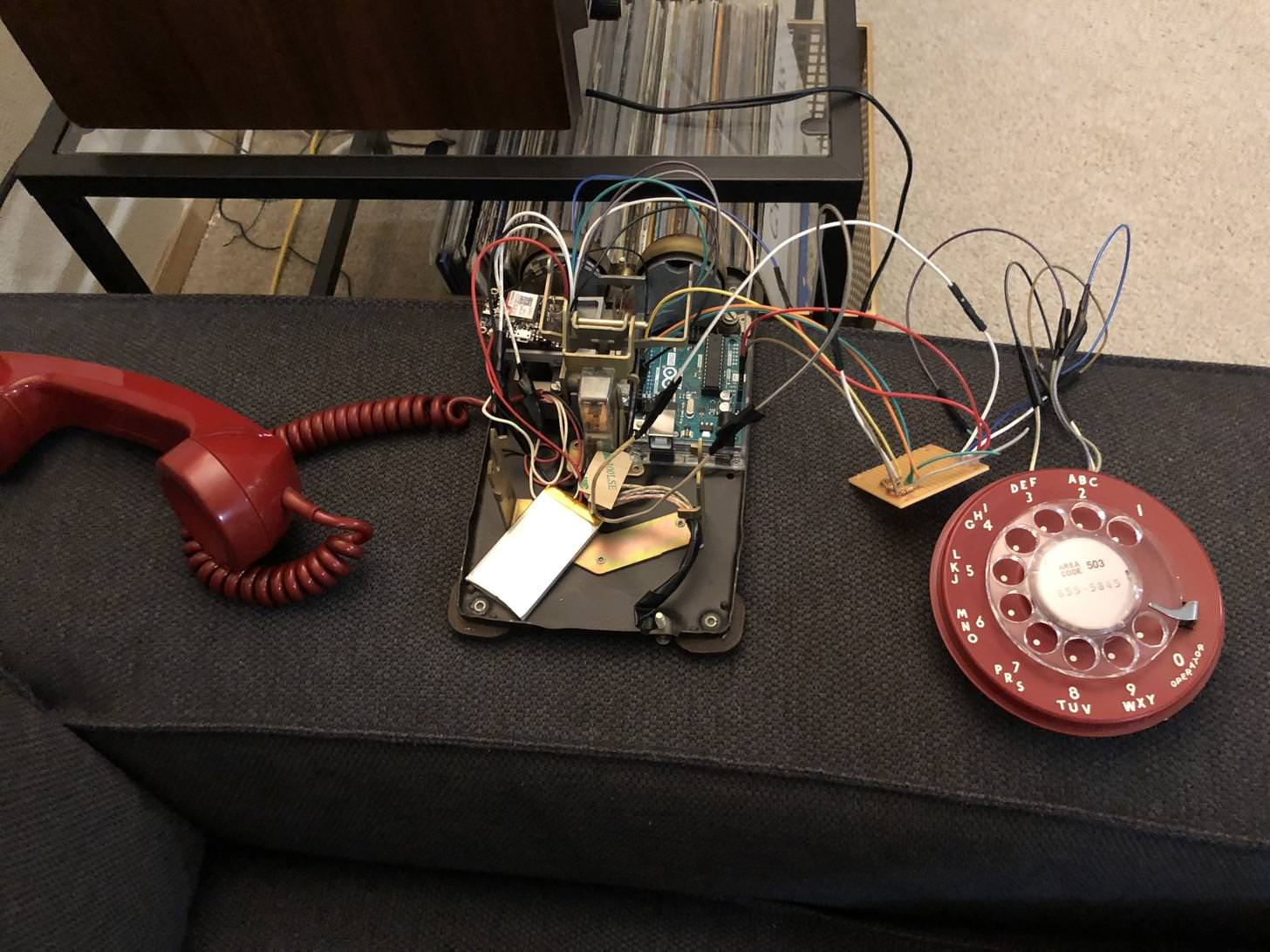 Arduino Blog 1961 Rotary Phone Gets A 2018 Cellular Upgrade Audio Using Microphone With An Electrical Engineering While Its Hard To Beat Todays Mobile Devices Functionality Wise If You Need Built Like Tank And Designed For Voice Communication