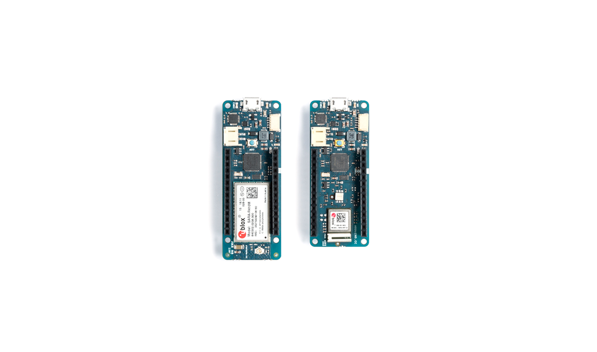 The MKR family gets bigger with two new IoT boards!