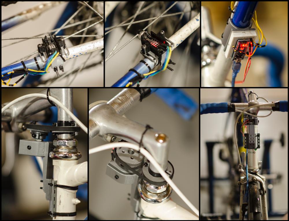 Arduino powered infinity bike virtual
