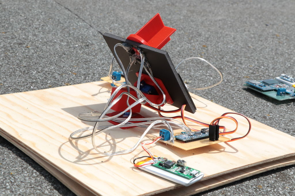 Arduino track the sun with this based solar