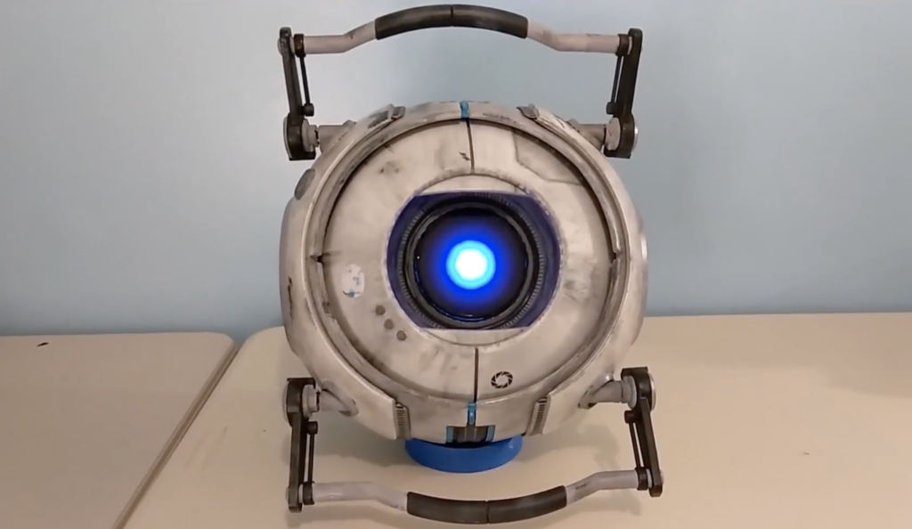 Arduino Blog Wheatley From Portal 2 Comes To Life With Arduino