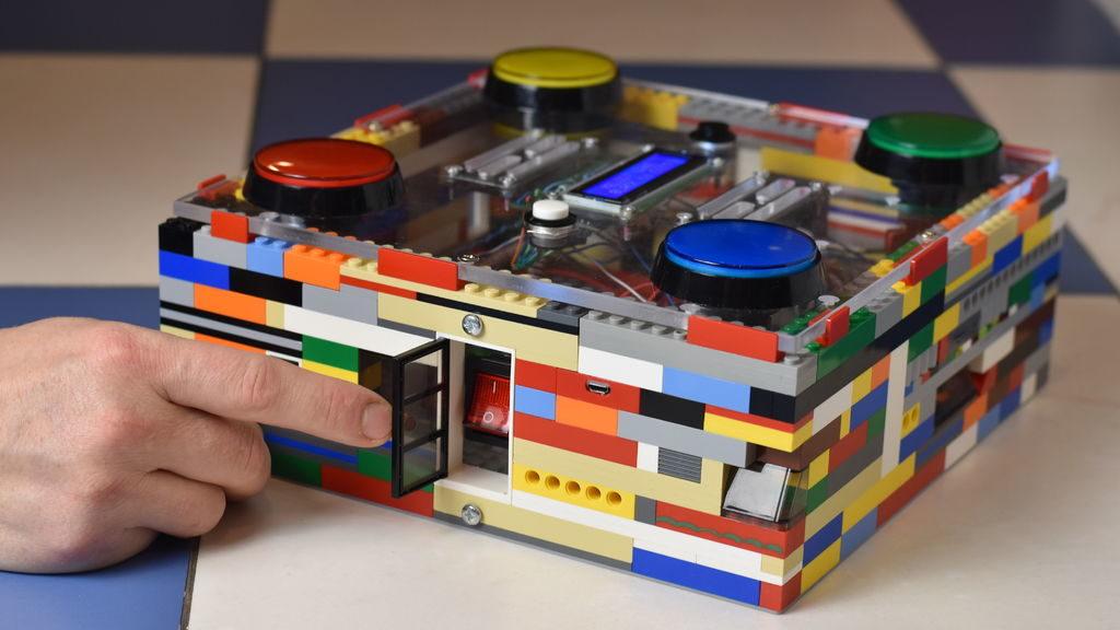 arduino blog build a 4 button arcade game out of lego
