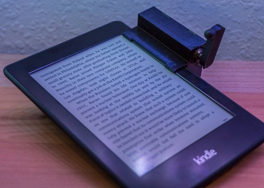 Arduino turn the pages on your kindle remotely with