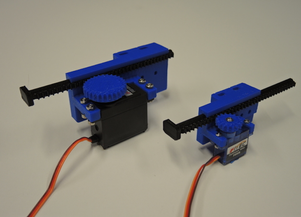 Linear movement with Arduino and 3D printing