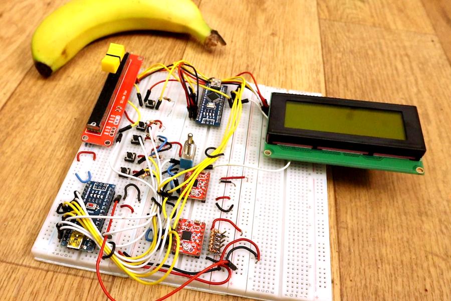 """Arduino Blog » Dual Arduino """"CNC"""" control"""