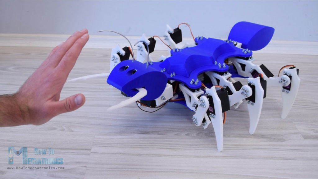 Arduino Blog » Arduino Mega is the brains of this ant-like