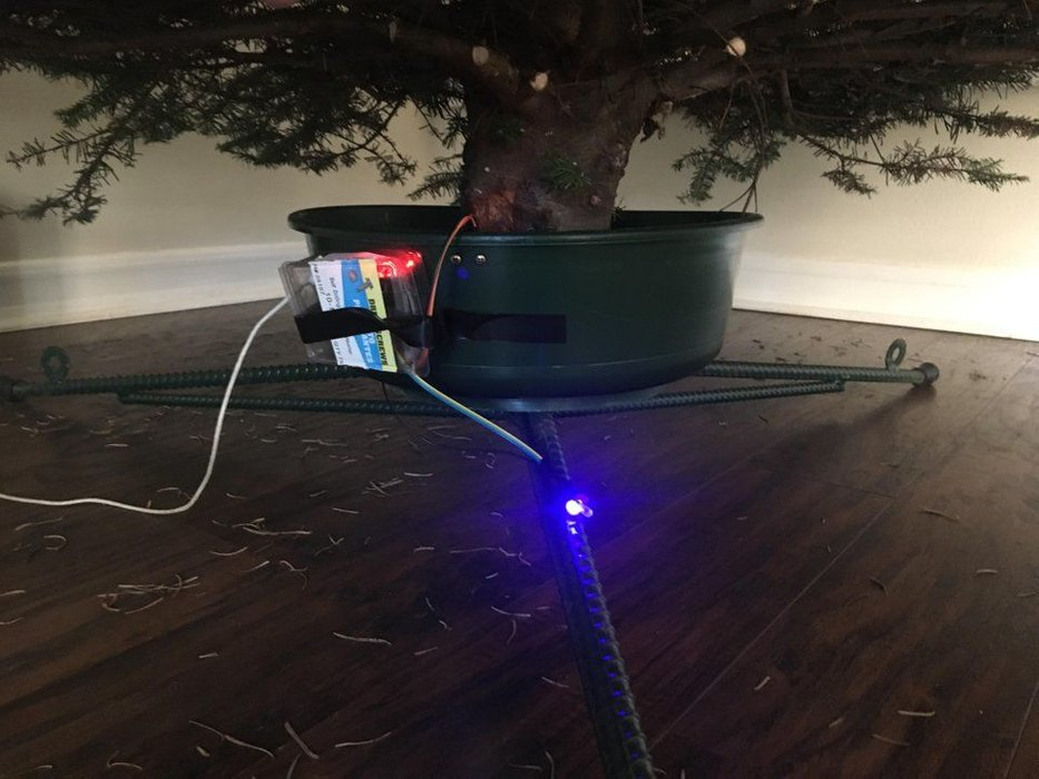 How Often To Water Christmas Tree.Arduino Blog A Useful Christmas Tree Water Level Indicator