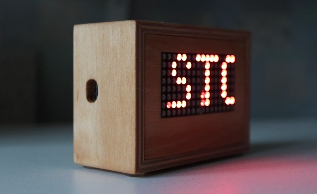 Arduino Blog » A multi-matrix scrolling text display for