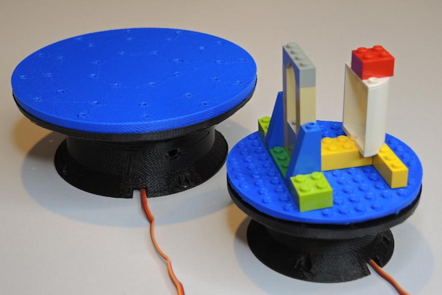 Arduino Blog » An Arduino-powered mini turntable with