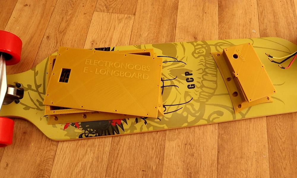 Arduino Blog » Convert an ordinary longboard to electric