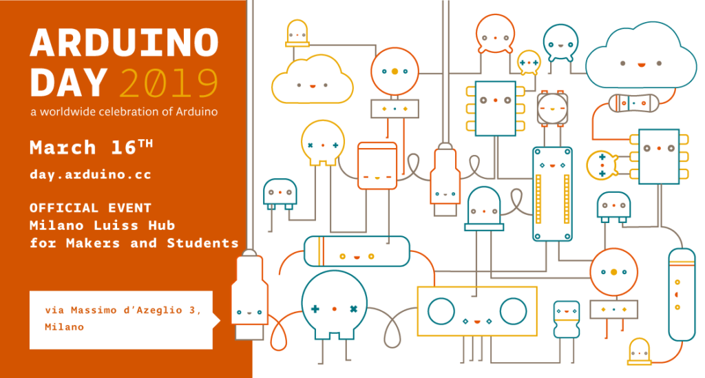 Official Arduino Day 2019 celebration coming to Milan!