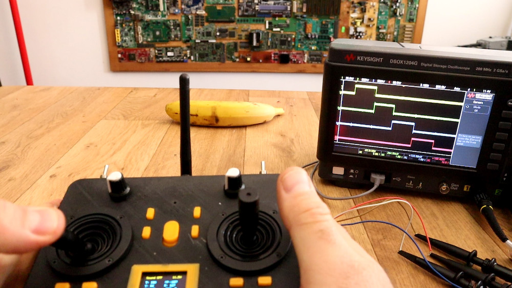 This DIY radio controller resembles one you'd find on the market