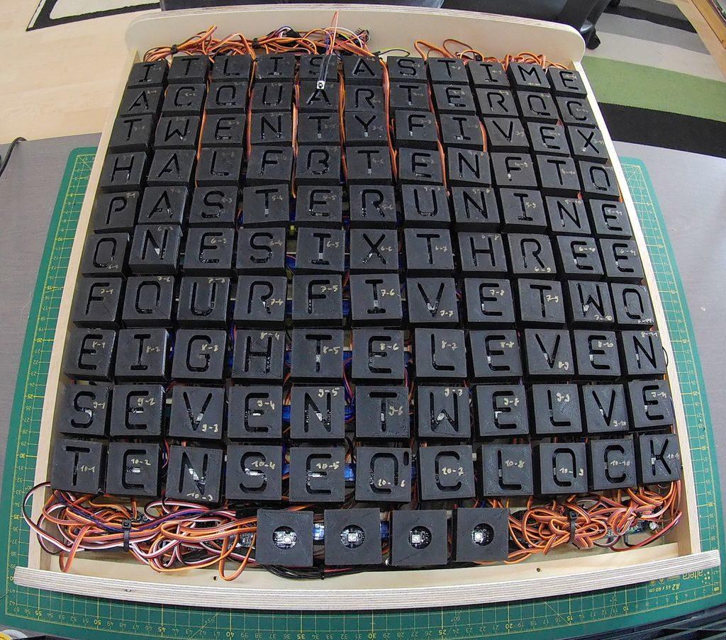word clock | PlanetArduino