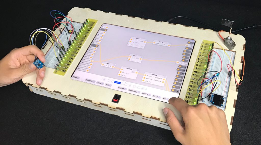 Arduino Blog » Flowboard provides visual learning environment for coding