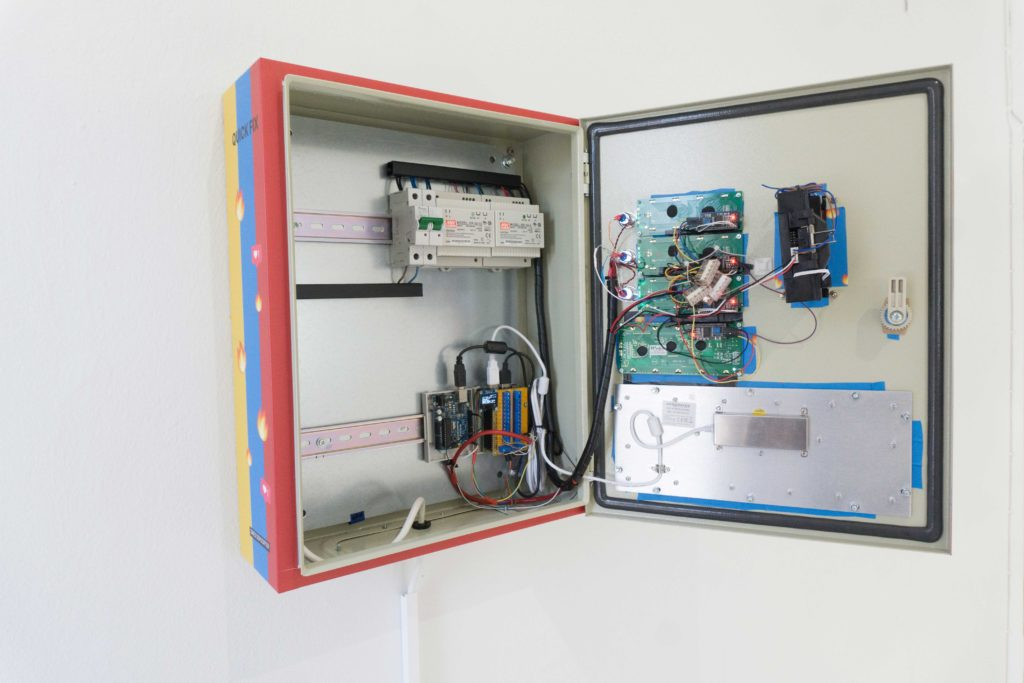 Arduino Blog » Quick Fix is a social media vending machine