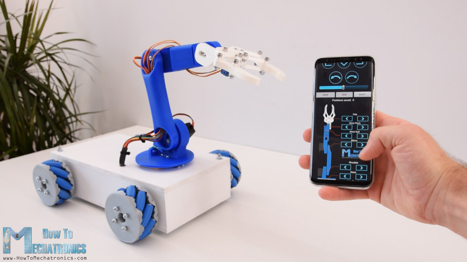 Arduino Blog » Store and replay this robot's movements from your phone