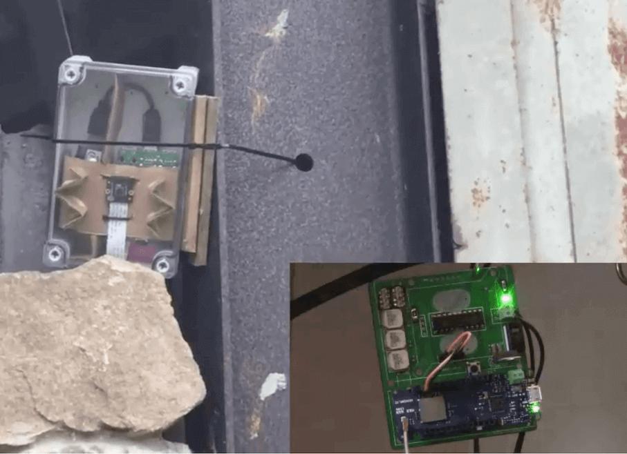 Arduino Blog » LoRa security camera detects and transmits trespasser