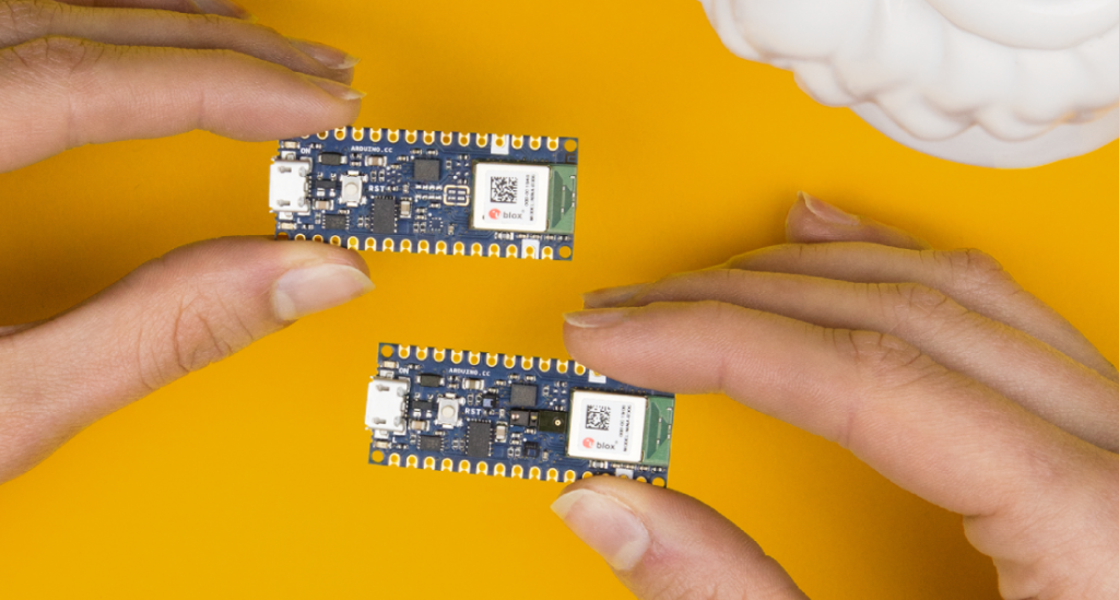Arduino Blog » The Arduino Nano 33 BLE and BLE Sense are