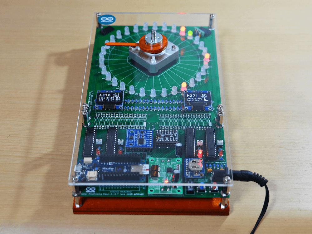 Arduino Blog » Developing a photovoltaic solar tracker controller
