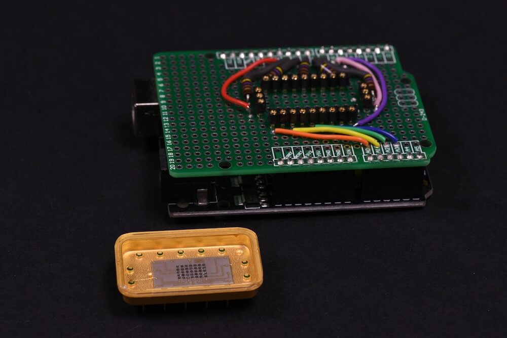 Vintage LED display prototype revived with Arduino