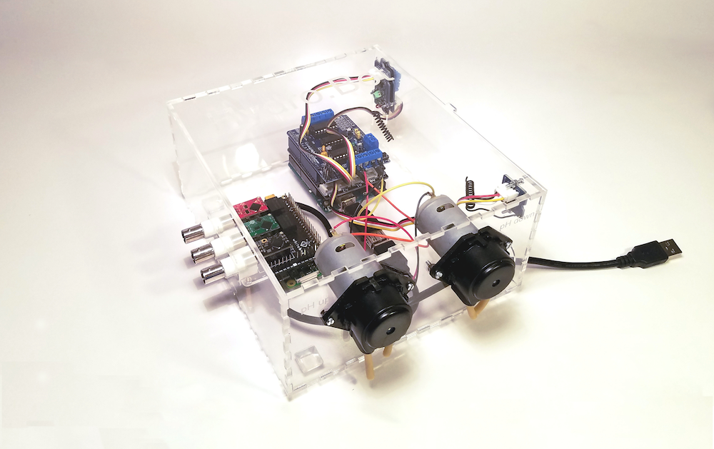 Arduino Blog » Automate your hydroponic garden with HydroBot