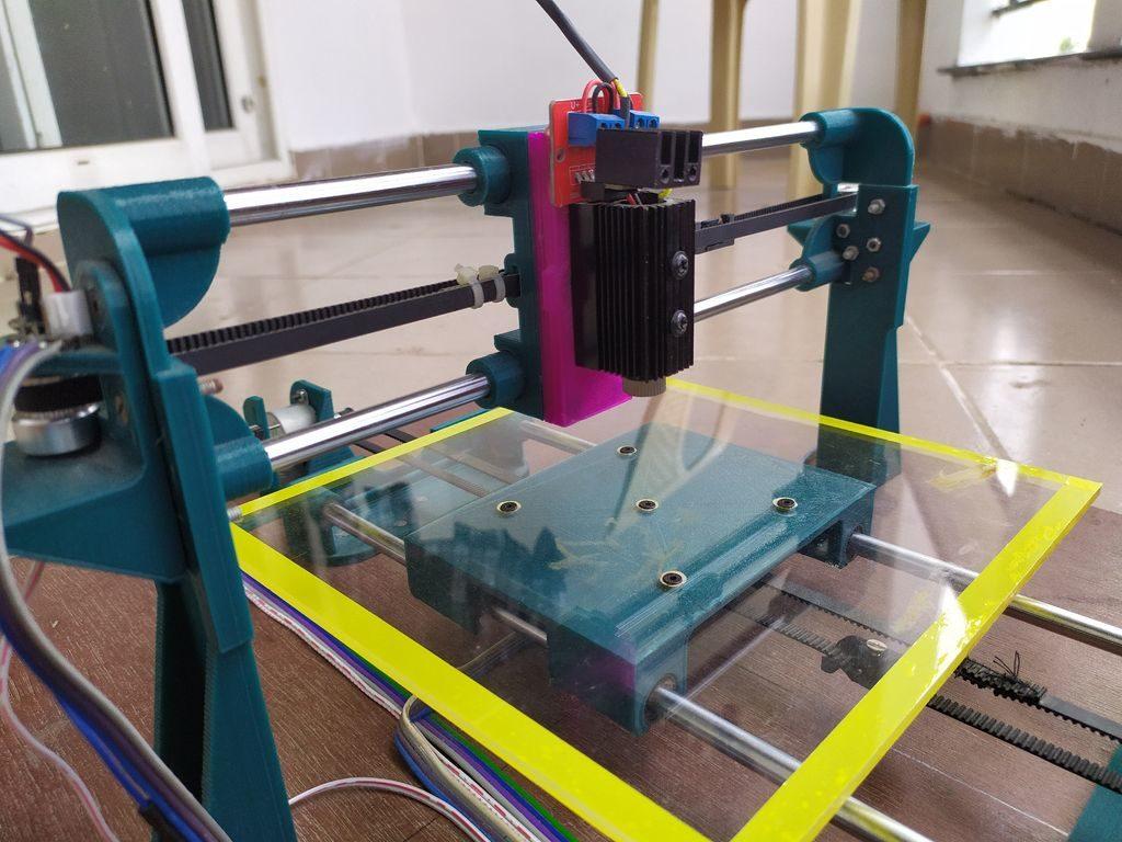 Arduino Blog » Pen plotter? Laser engraver? This DIY machine