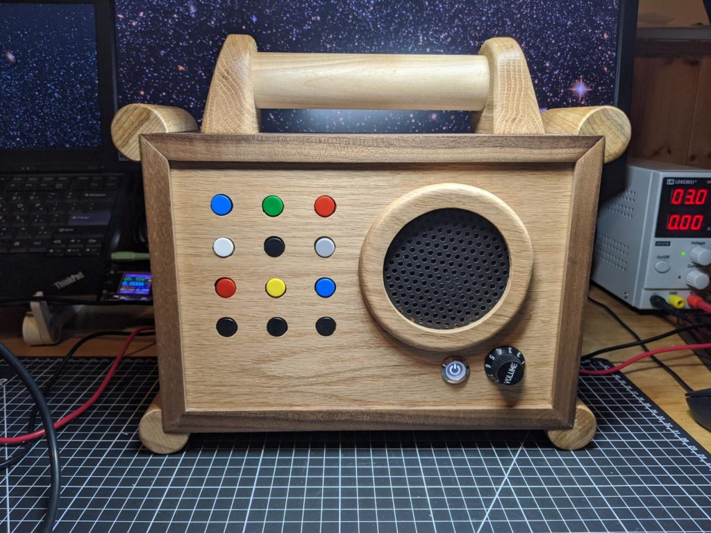 Build your child a wooden MP3 player for $100